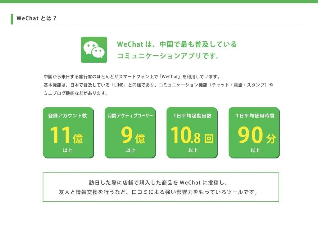 WeChatとは?